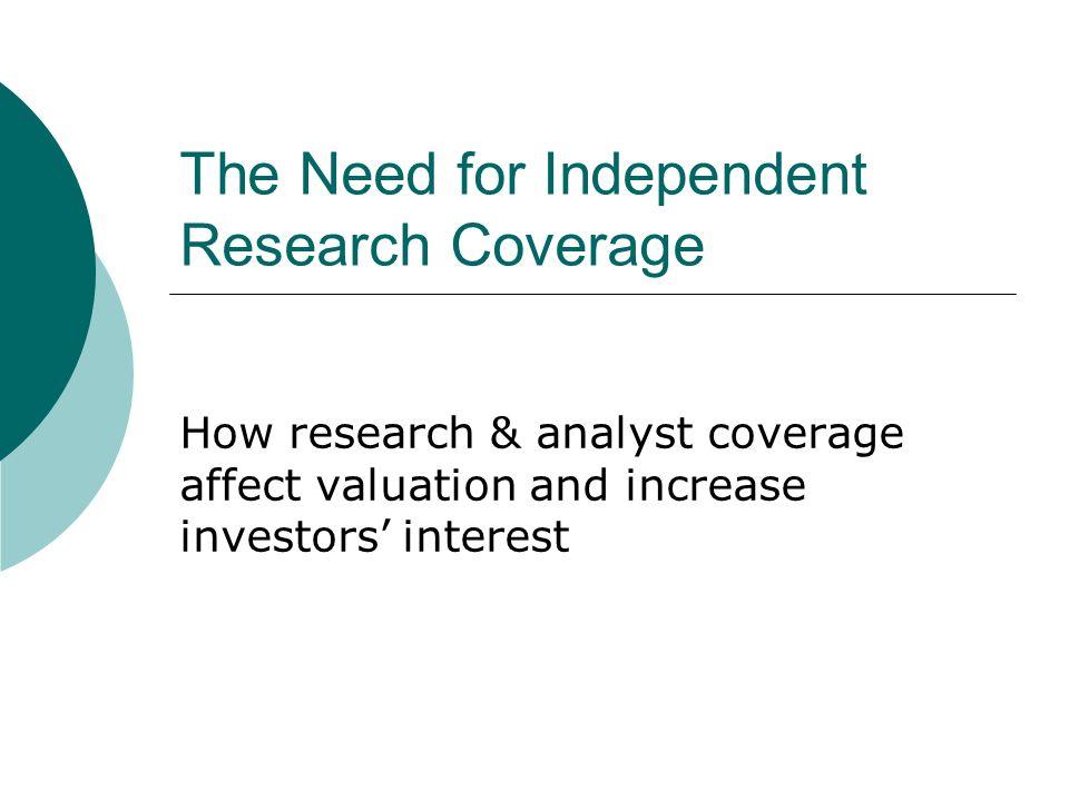 Facts: Investors & money managers face abundant information.