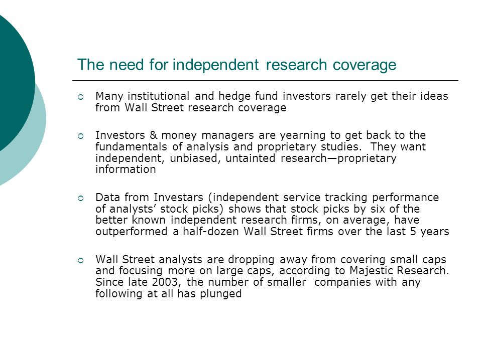 About our Research.