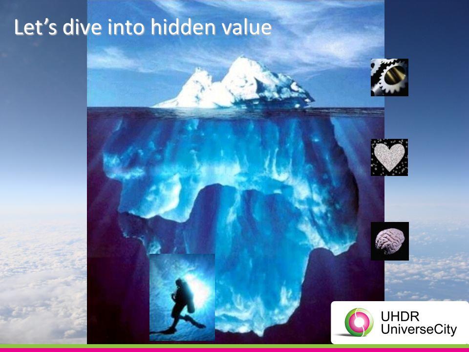 Lets dive into hidden value