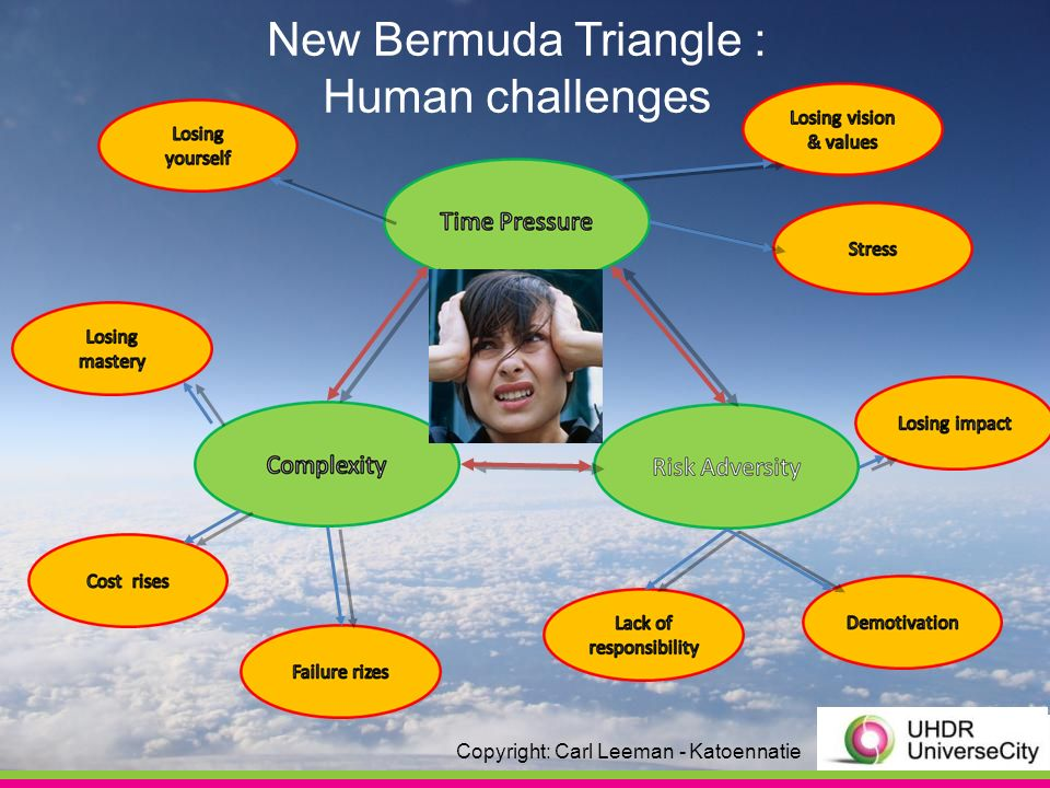 New Bermuda Triangle : Human challenges Copyright: Carl Leeman - Katoennatie