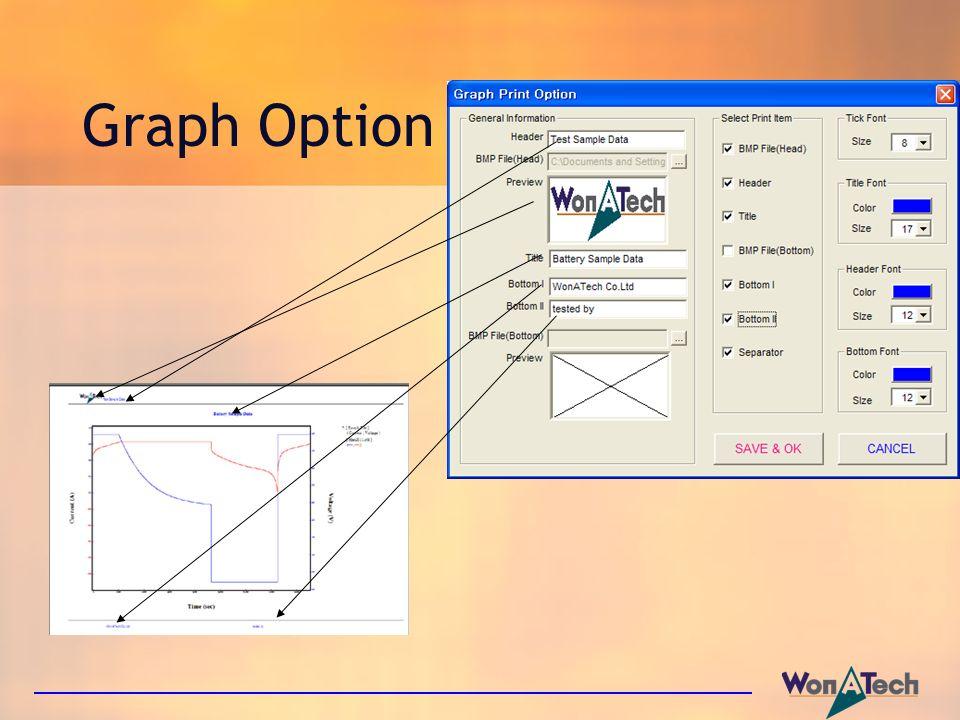Graph Option