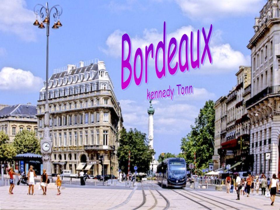 Climograph of Bordeaux