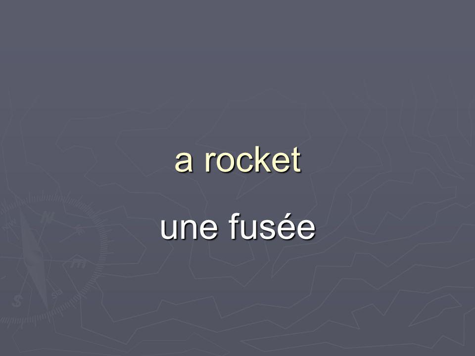 a rocket une fusée
