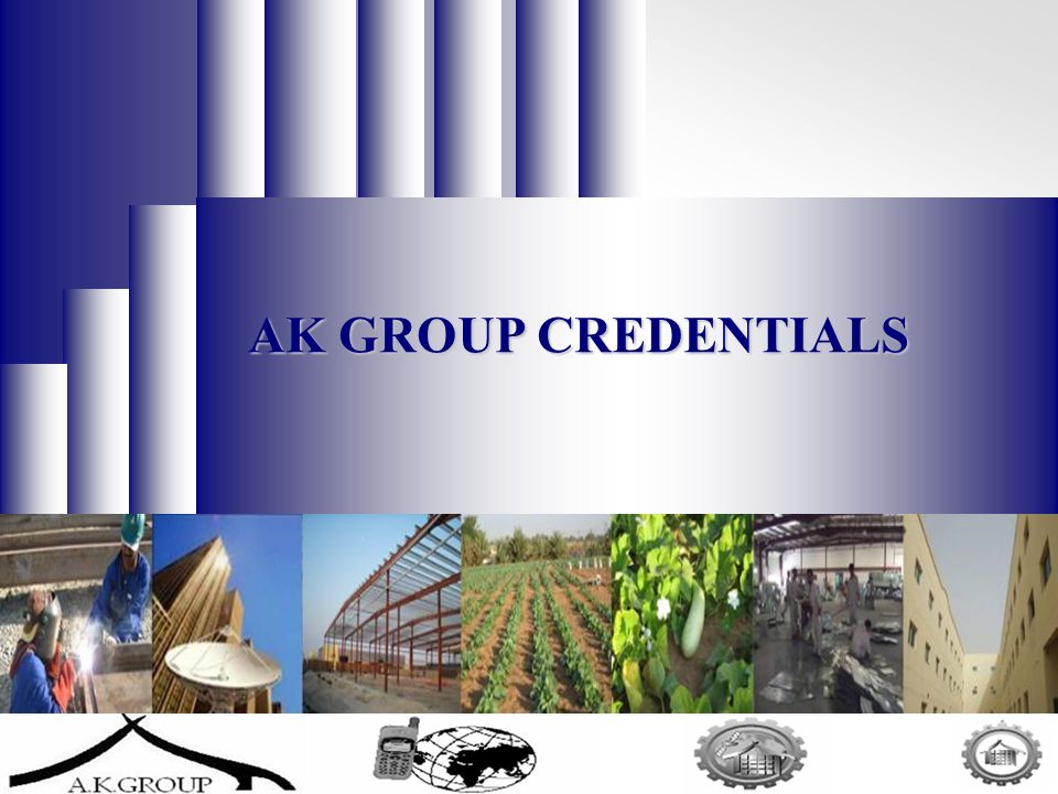 1 AK GROUP CREDENTIALS