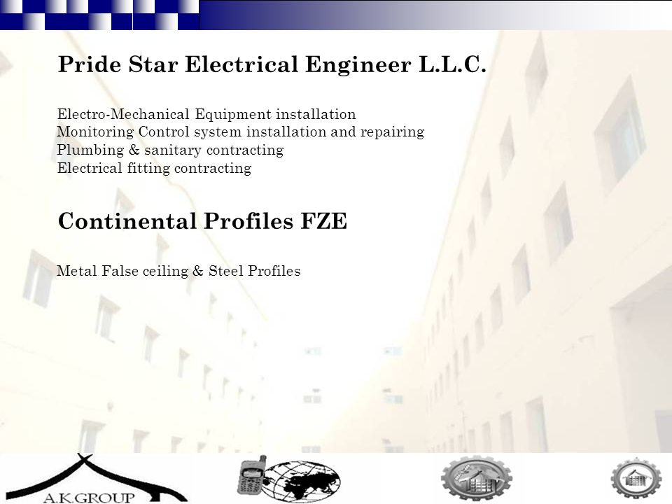 13 Pride Star Electrical Engineer L.L.C.