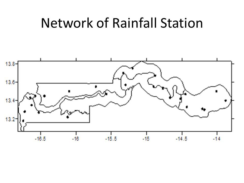 Network of Rainfall Station