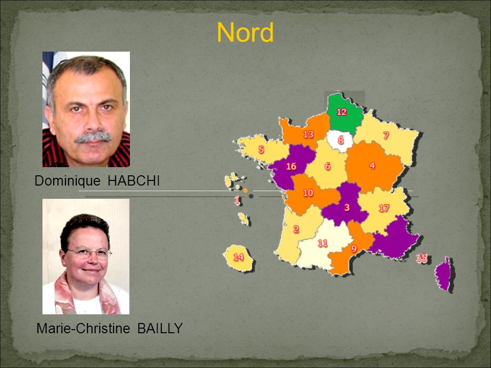 Nord Marie-Christine BAILLY Dominique HABCHI