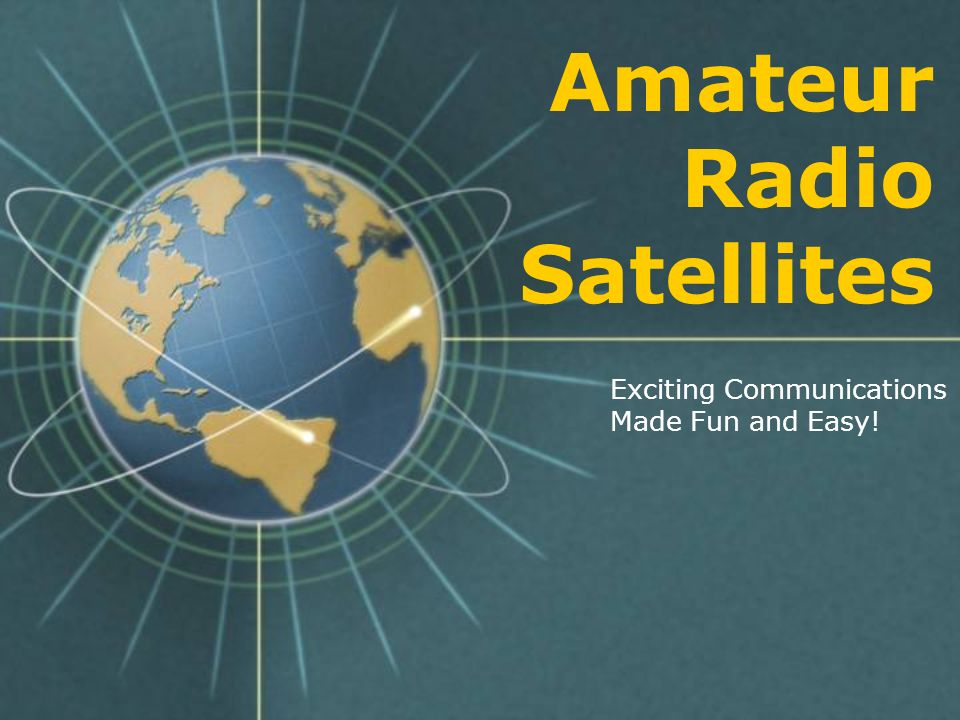 South African AMSAT Award The South Africa AMSAT Satellite Communications Achievement Award requires working 25 different stations on phase 2 satellites.
