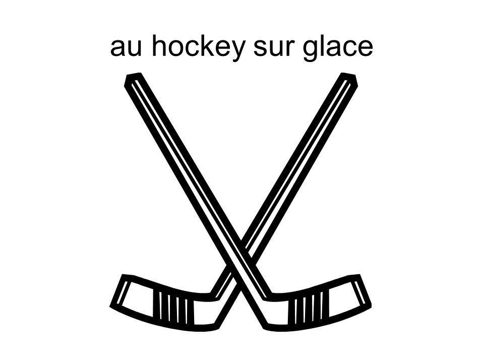 au hockey sur glace