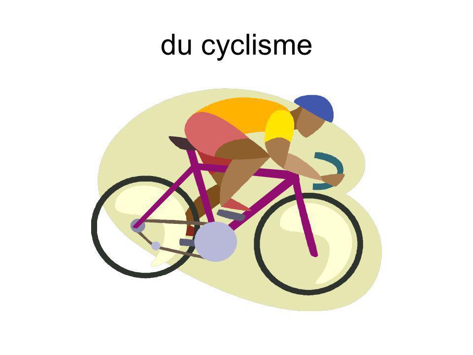 du cyclisme