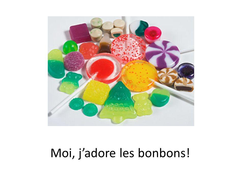 Moi, jadore les bonbons!