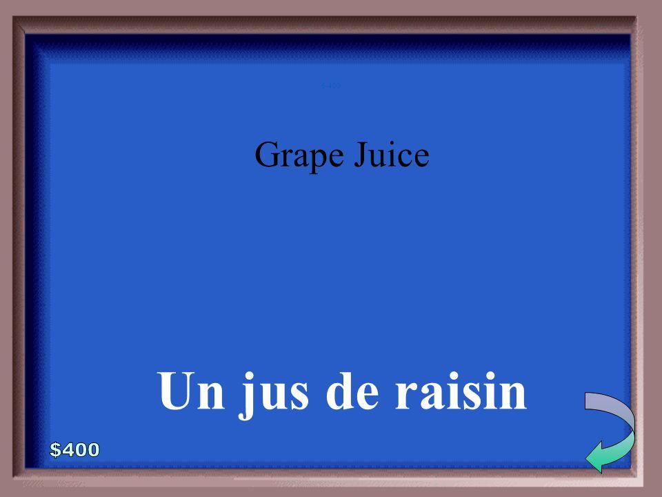 6-300 Orange Juice Un jus dorange
