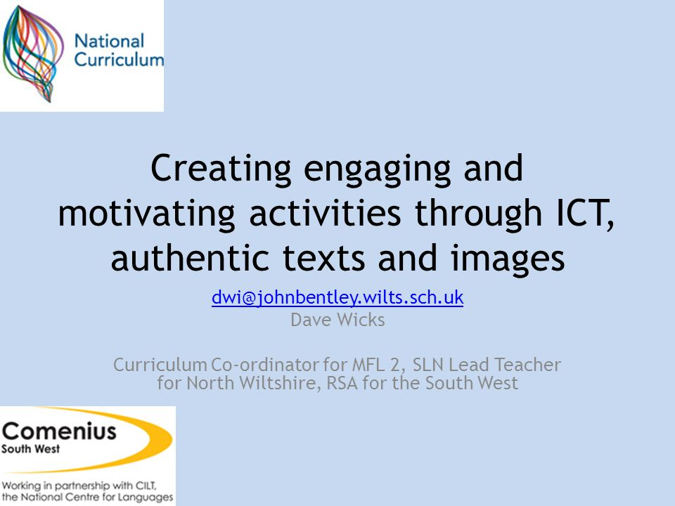 Text, images and ICT - incorporating all 3 into one fabulous activity