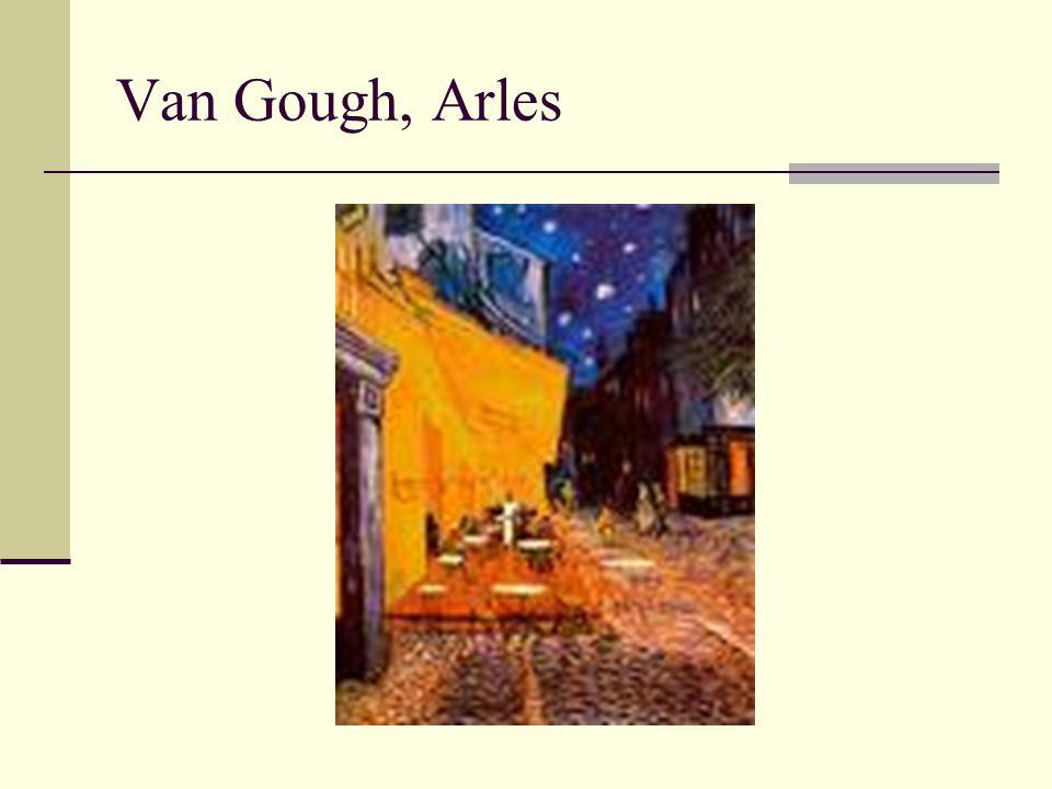 Van Gough, Arles