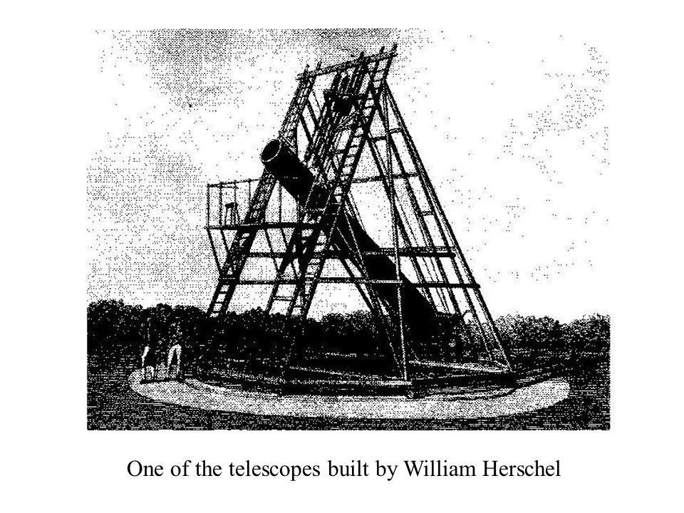 One of the telescopes built by William Herschel