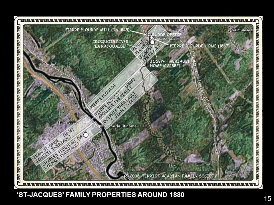 ST-JACQUES FAMILY PROPERTIES AROUND 1880 15