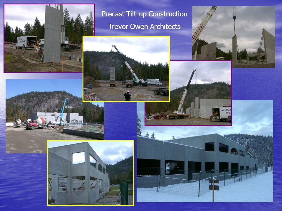 Precast Tilt-up Construction Trevor Owen Architects