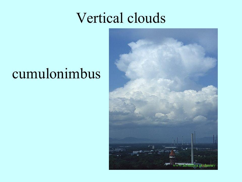 Vertical clouds www.interklasa.pl/chmury cumulonimbus