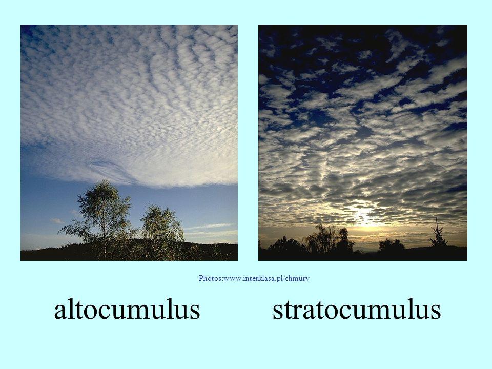 altocumulus Photos:www.interklasa.pl/chmury stratocumulus