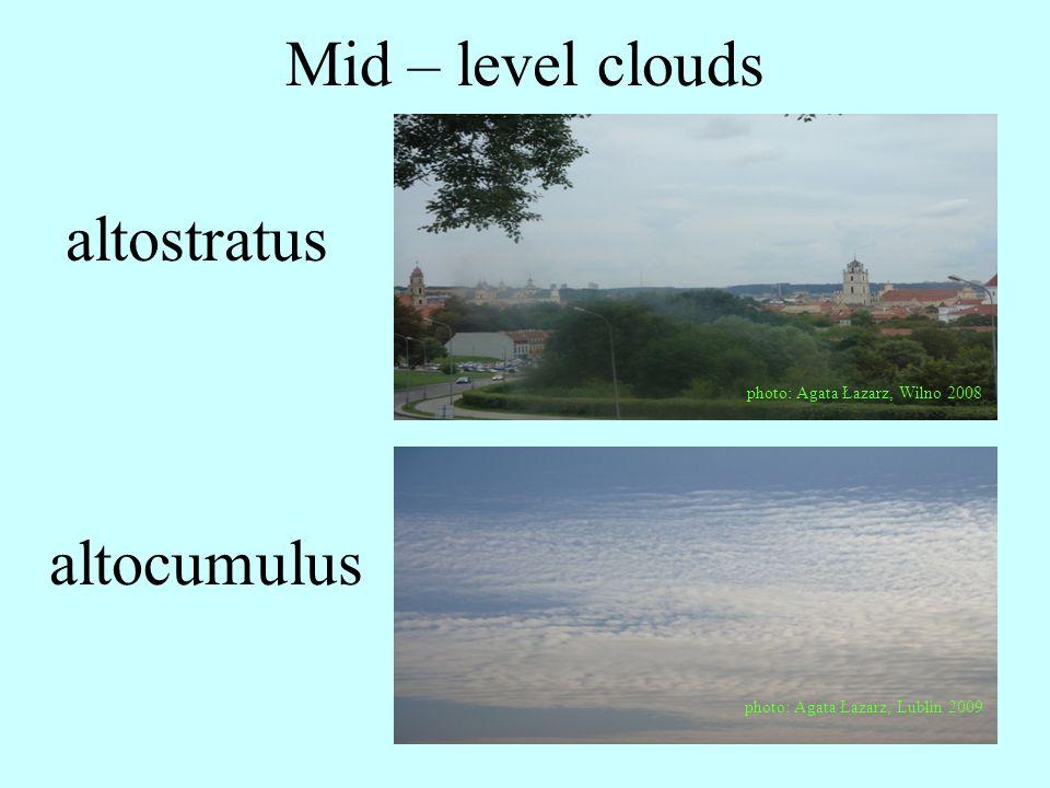Low clouds photo: Agata Łazarz, Lublin 2009 stratocumulus
