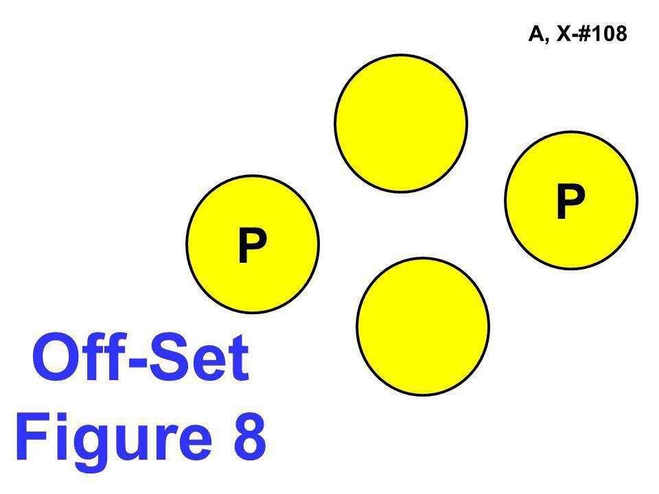 A, X-#108 Off-Set Figure 8 P P