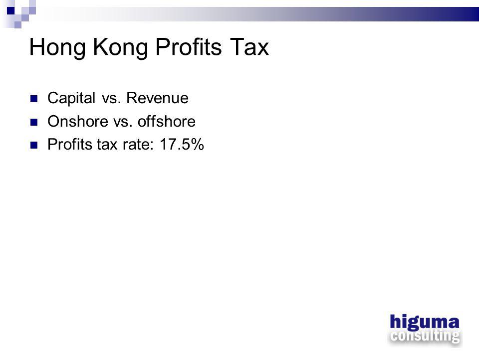 Manufacturing Income HK Co.