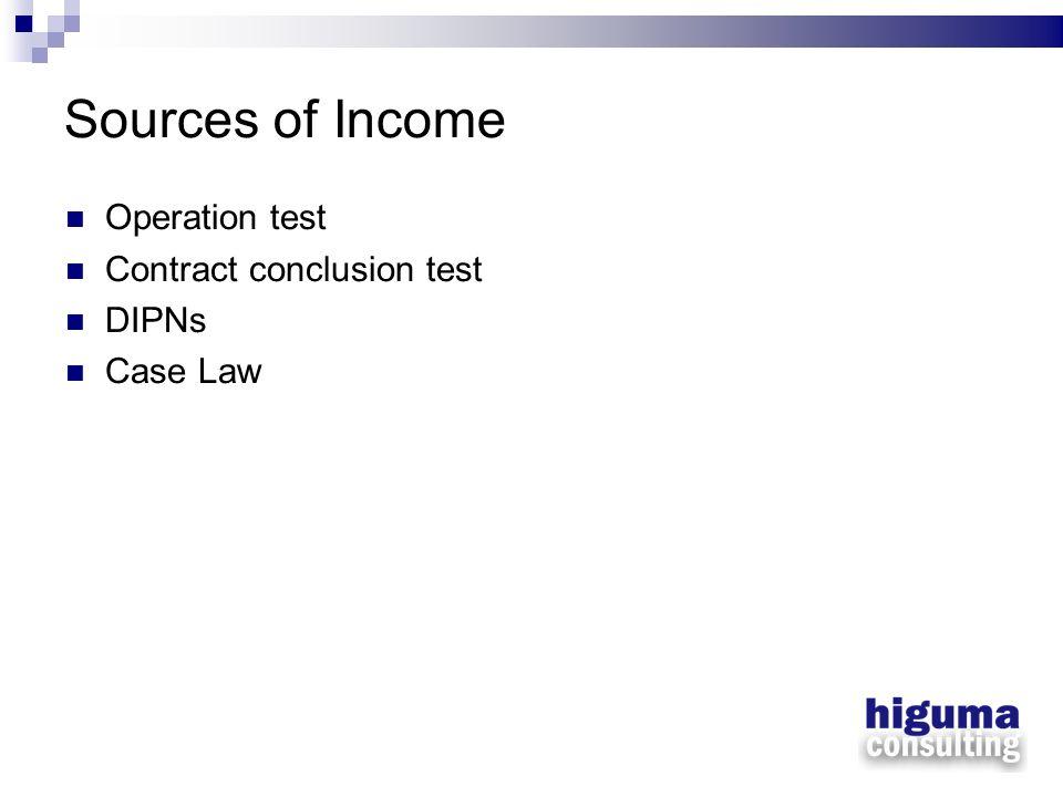 Expenses - Interest Case studies –Interest flow-back test Interest deductible.