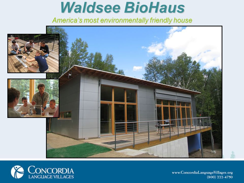 Waldsee BioHaus Americas most environmentally friendly house