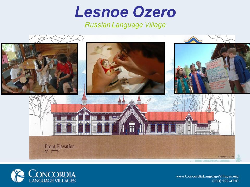 Lesnoe Ozero Russian Language Village