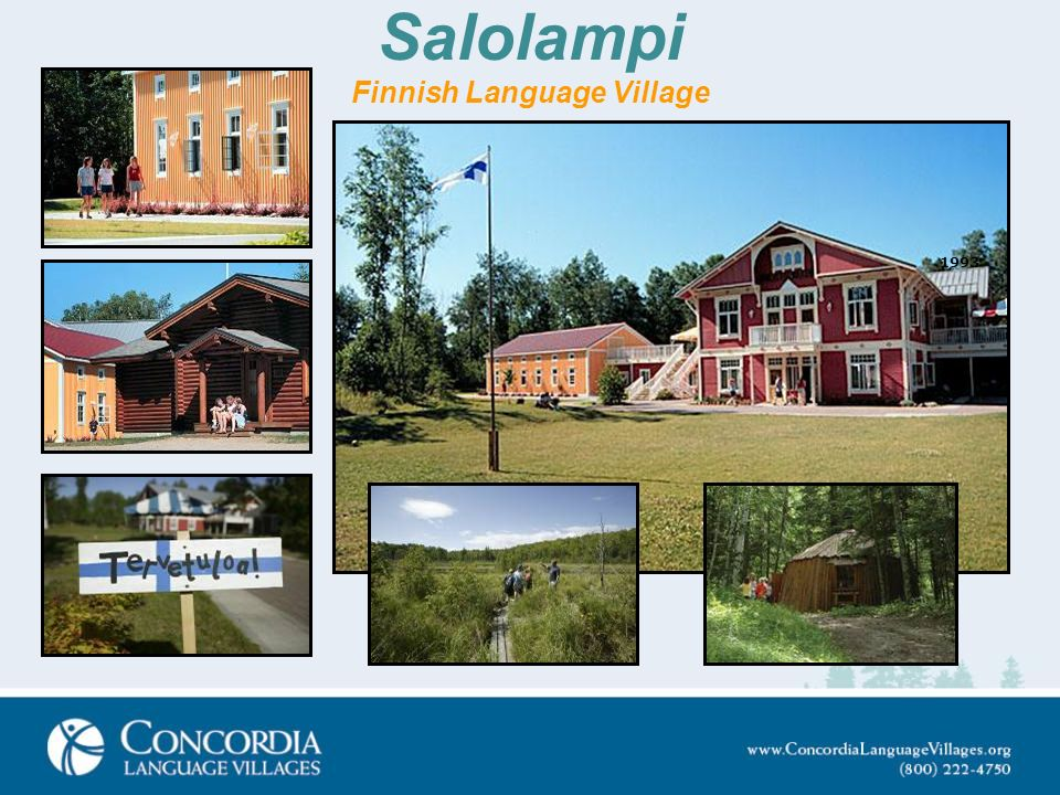 Salolampi Finnish Language Village 1993