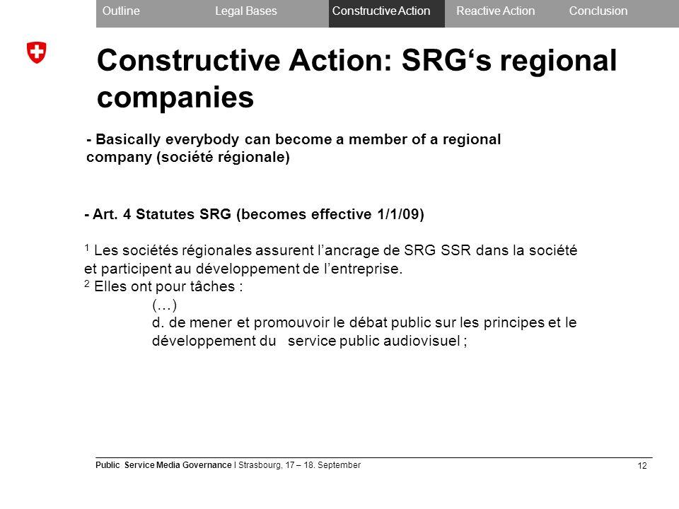 12 Public Service Media Governance I Strasbourg, 17 – 18.