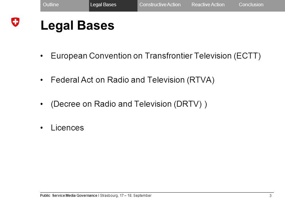 3 Public Service Media Governance I Strasbourg, 17 – 18.