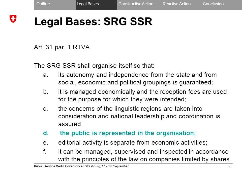 4 Public Service Media Governance I Strasbourg, 17 – 18.