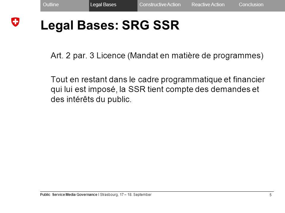 5 Public Service Media Governance I Strasbourg, 17 – 18.