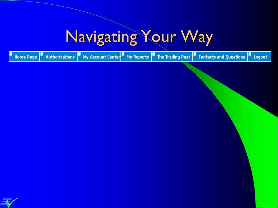 Navigating Your Way
