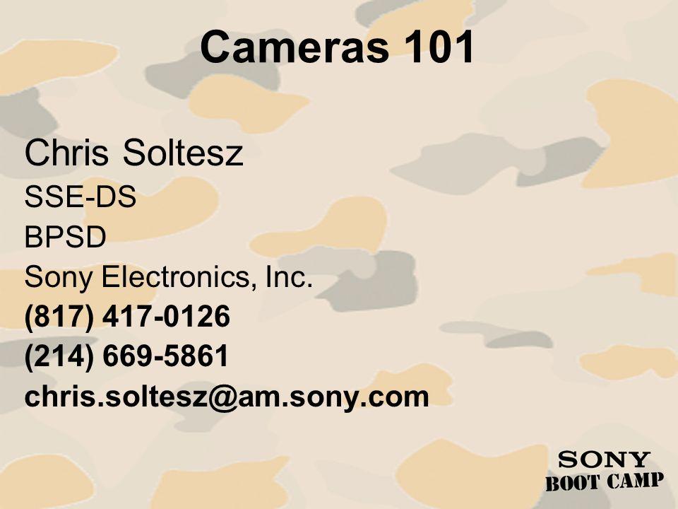 Cameras 101: Applications Camcorder Pricing – Sony Camcorders: DSR-PD170$3,940.00 HVR-V1U$4,890.00 HVR-Z1U$5,946.00 DSR-400L$10,800.00 DSR-450WSL$15,000.00 PDW-F350$25,800.00 PDW-530$34,000.00 MSW-970$37,000.00 DVW-970$49,700.00 HDW-750/1$71,100.00 HDW-F900R$79,900.00