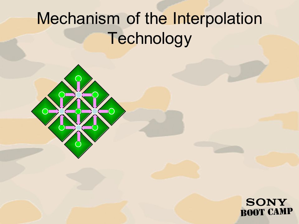 Mechanism of the Interpolation Technology