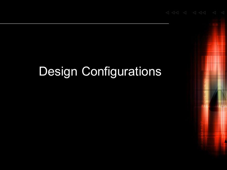 Design Configurations