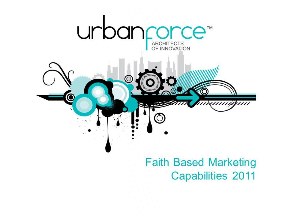 1 Faith Based Marketing Capabilities 2011