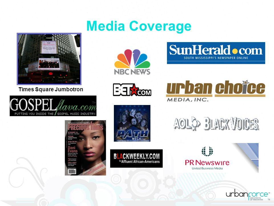 14 Media Coverage Times Square Jumbotron
