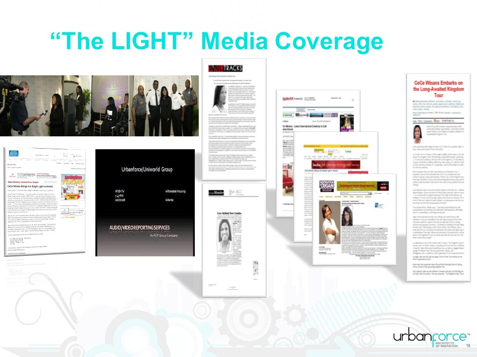16 The LIGHT Media Coverage