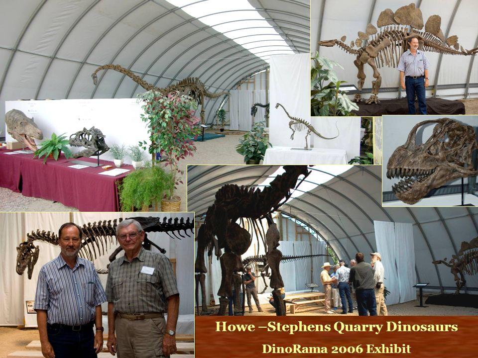 Howe –Stephens Quarry Dinosaurs DinoRama 2006 Exhibit
