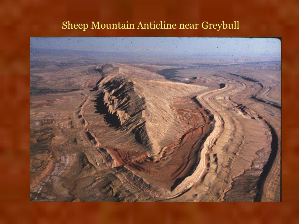 Sheep Mountain Anticline near Greybull