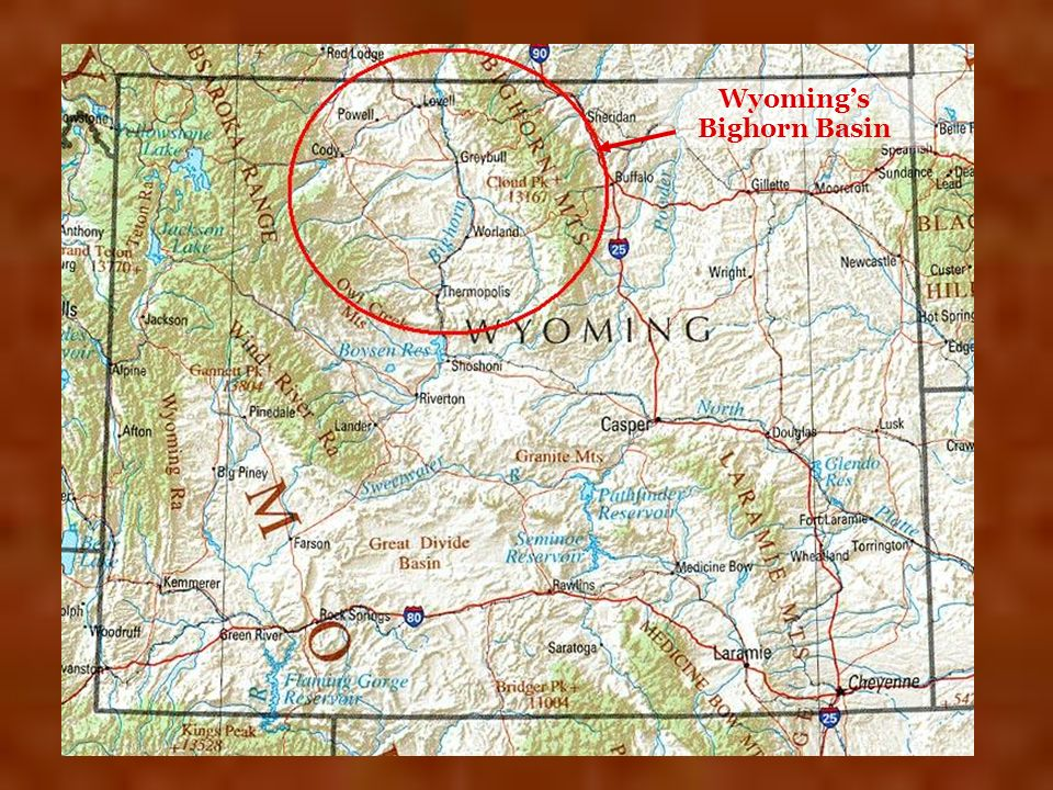 Wyomings Bighorn Basin