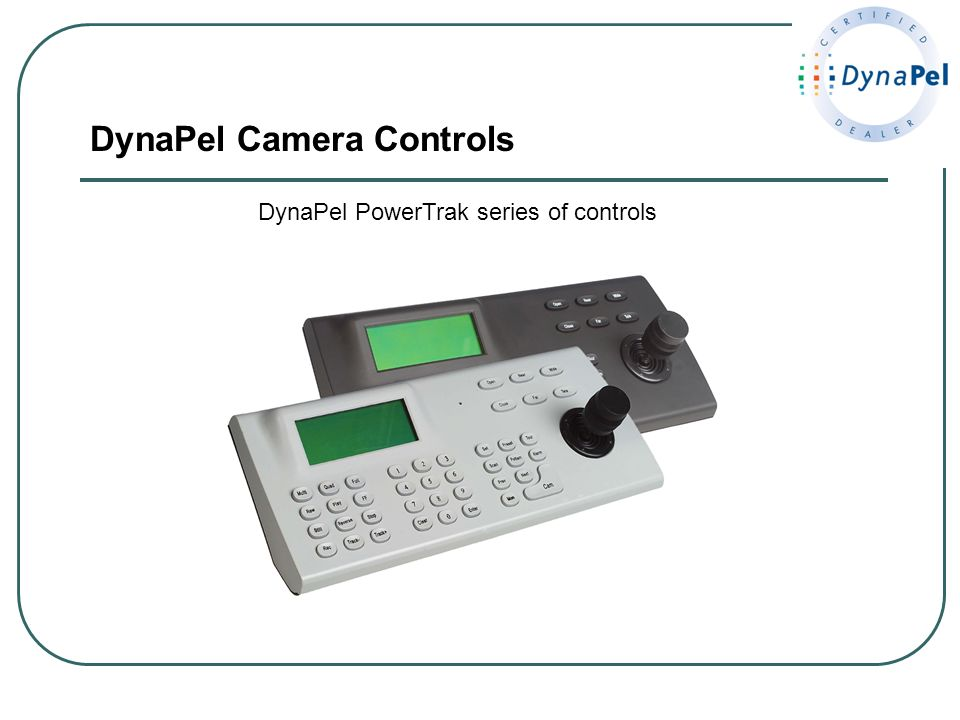 DynaPel Camera Controls DynaPel PowerTrak series of controls