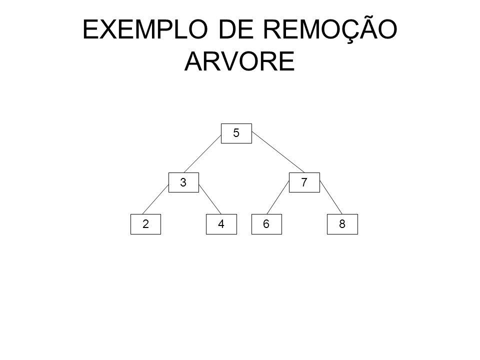 EXEMPLO DE REMOÇÃO ARVORE 5 24 3 68 7