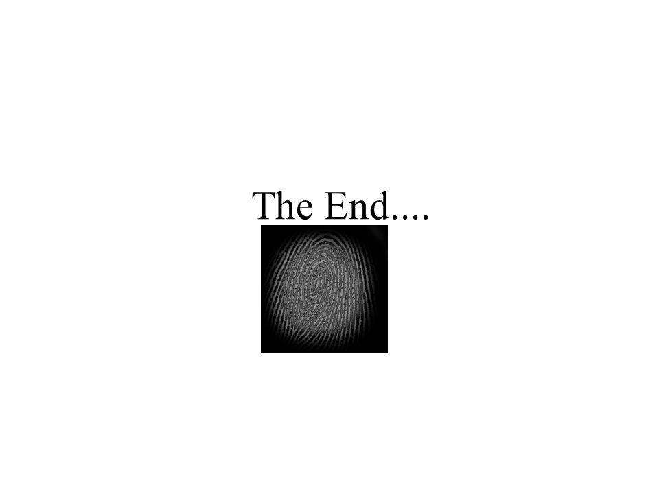 The End....