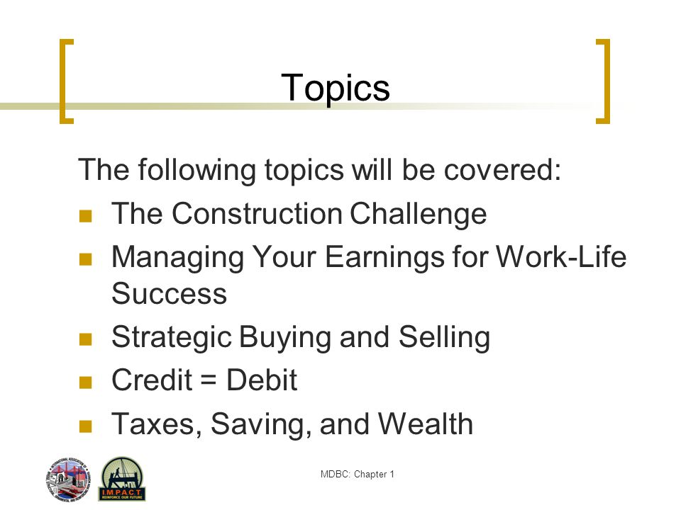 MDBC: Chapter 1 How to Maintain a Decent Credit Rating Tips to maintain a decent credit rating: Pay your bills on time.