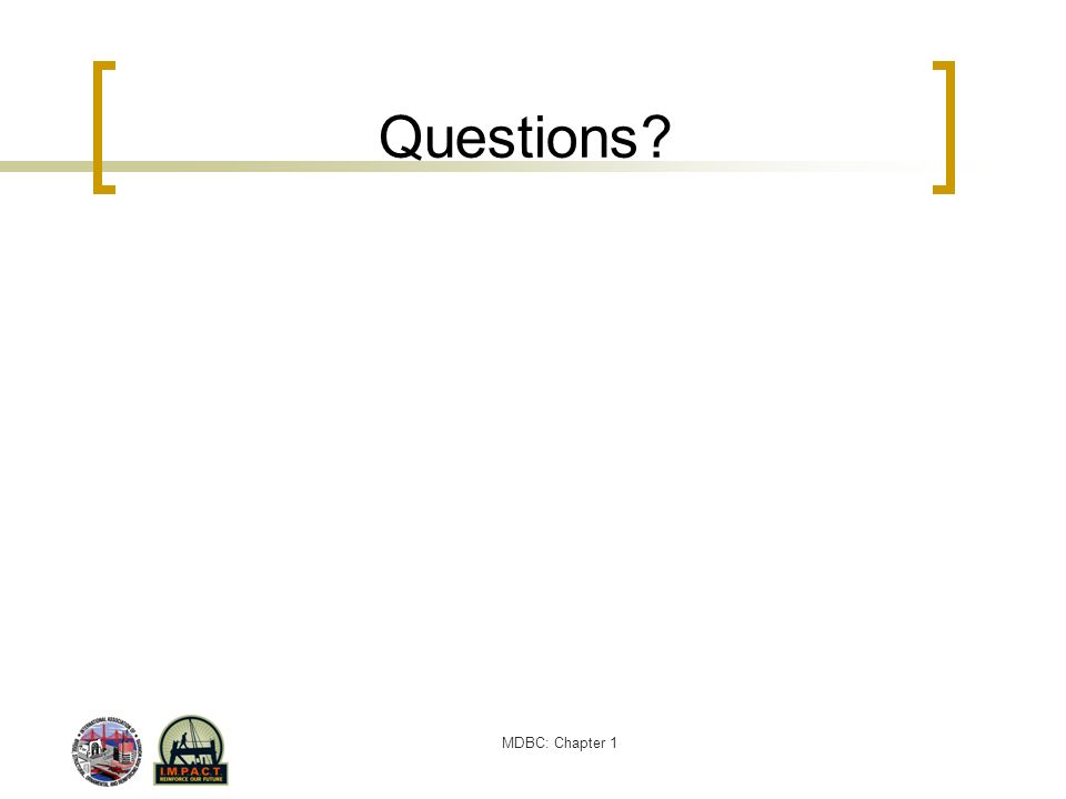 MDBC: Chapter 1 Questions to Ask Your Spouse (continued) How are we going to use ATMs.