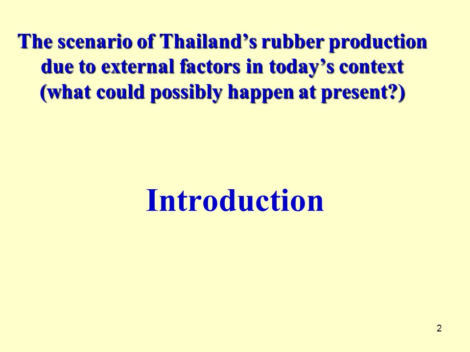13 Table 3.Natural Rubber Production of Thailand by Types, 1996 - 2006 YearRSS STR Conc.